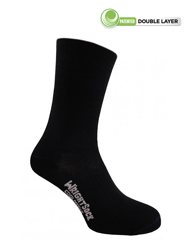 Wrightsock Coolmesh-II Crew (Black)