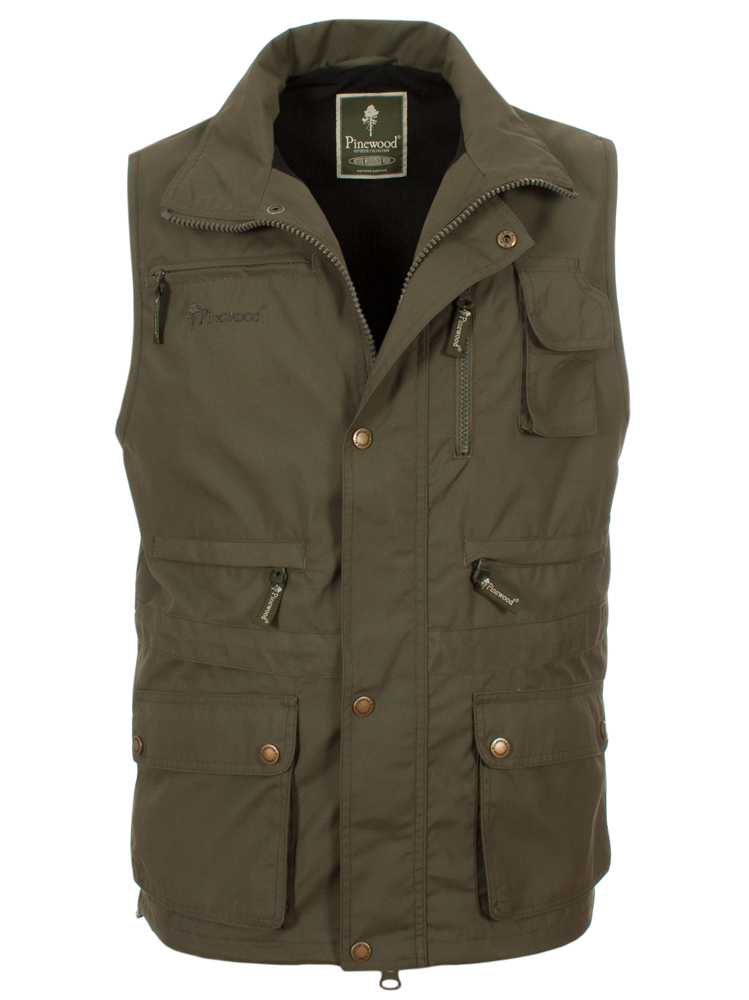 Pinewood New Tiveden Vest (Mid Green)
