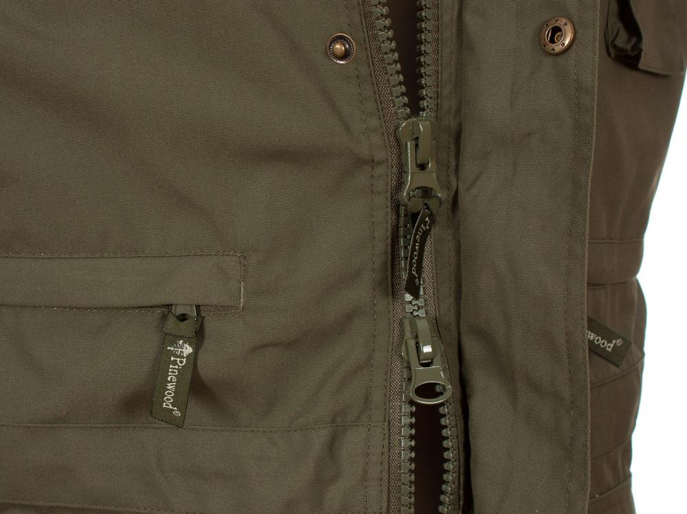 Pinewood Tiveden Mens Outdoor Vest Green
