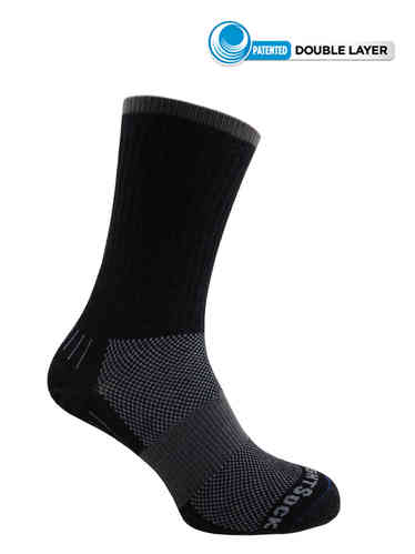Wrightsock Escape Crew (Black)