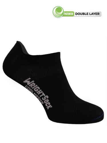 Wrightsock Coolmesh-II Low-Tab (Black)