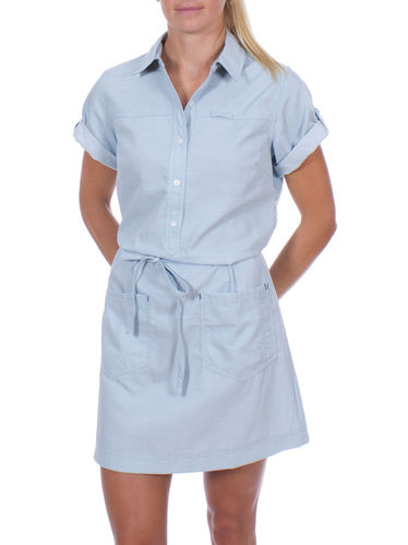 Patagonia Chesser Island Dress (Chambray: Dusk Blue)