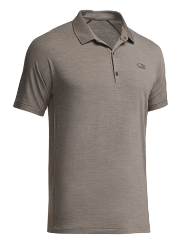 Icebreaker Sphere SS Polo (Trail Heather)