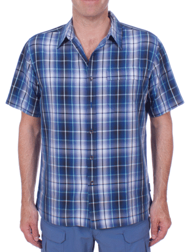 Royal Robbins Plateau Plaid S/S (Twilight)