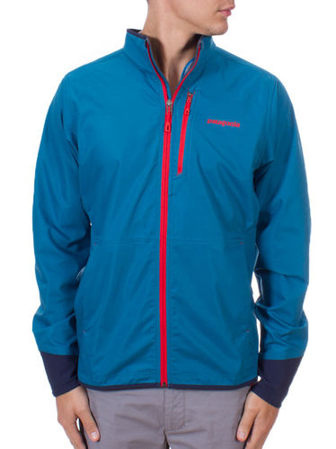 Patagonia M's All Free Jacket (Underwater Blue)