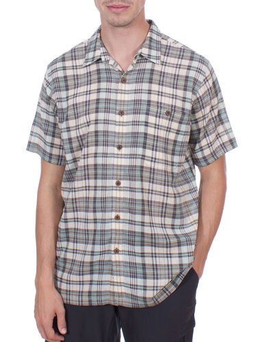 Patagonia M's A/C Shirt (Los Padres: Distilled Green)