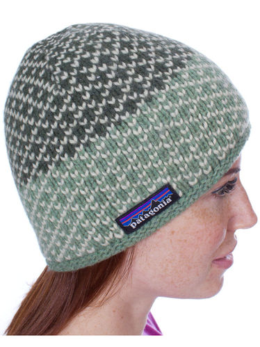 Patagonia Beatrice Beanie (Birds Industrial Green)