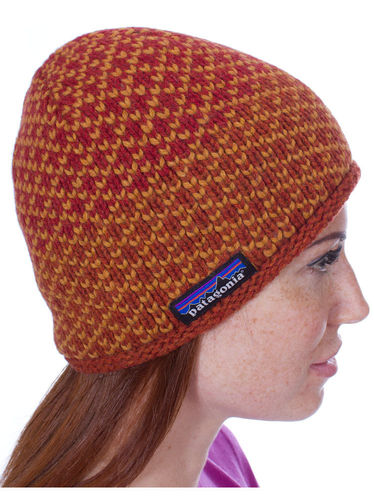 Patagonia Beatrice Beanie (Birds Cinder Red)