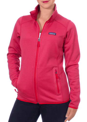 Patagonia Dames Tech Fleece Jacket (French Red)