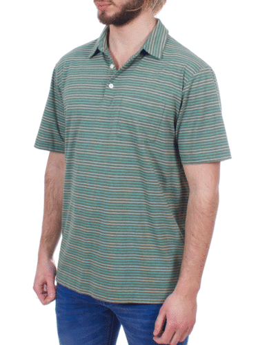 Patagonia Squeaky Clean Polo (Sets Small: Hemlock Green)