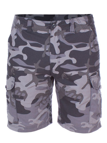Patagonia M's All Wear Cargo Shorts (Forest Camo: Forge Grey)