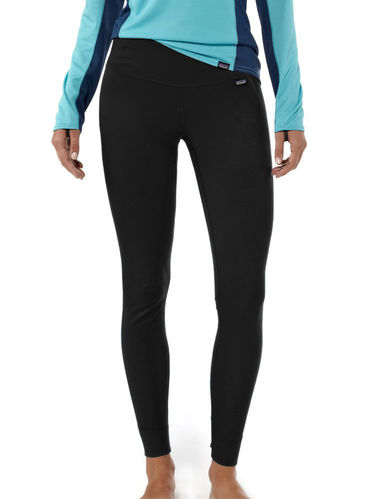 Patagonia Dames Capilene Midweight Bottom (Black)