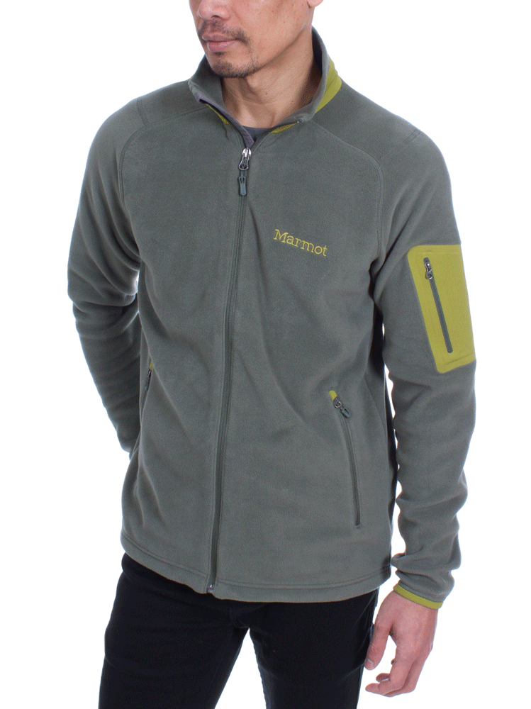791d3c9dc Marmot Reactor Jacket (Crocodile) Fleece Jacket