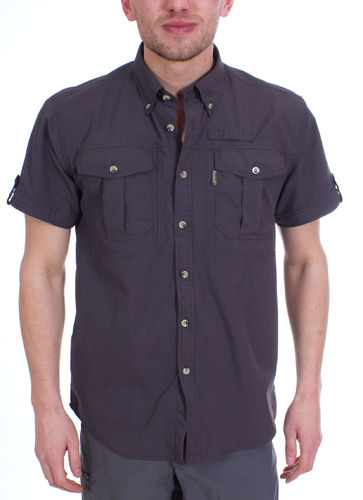 Pinewood Heren Botswana Shirt (Anthracite)