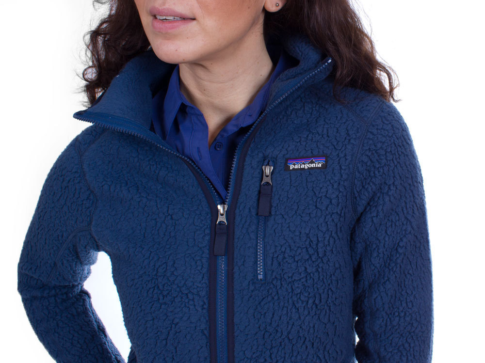 006bc621274d ... Patagonia Women s Retro Pile Hoody (Stone Blue) ...