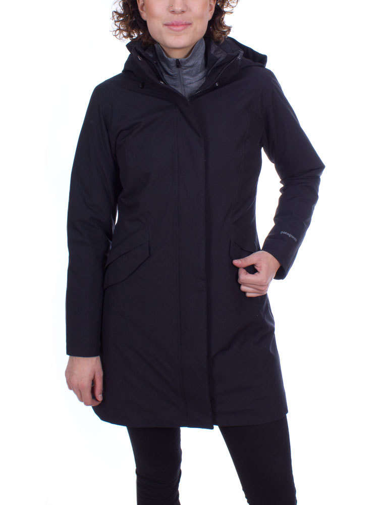 Patagonia Dames Vosque 3 in 1 Parka (Black) Winter Outdoor Jas