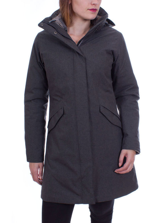 Patagonia Dames Vosque 3 in 1 Parka (Forge Grey)