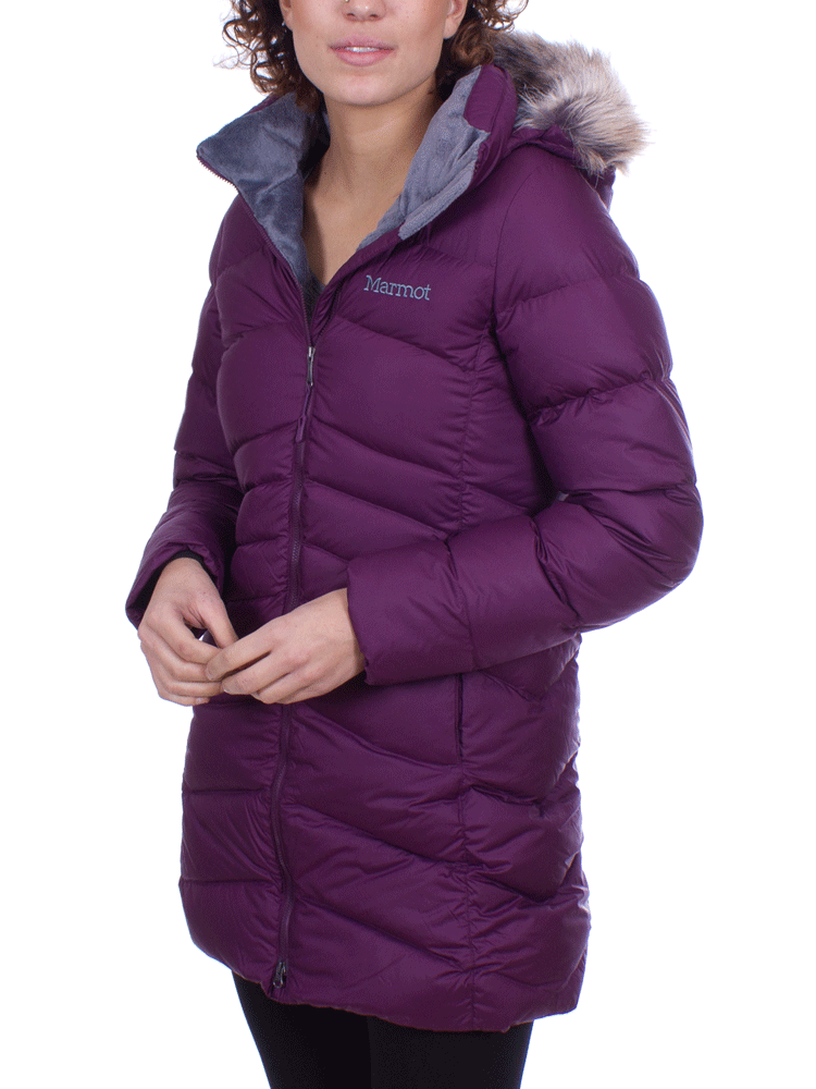 80c0d0481 Marmot Montreal Coat (Dark Purple) 700 Fill Down Wintercoat