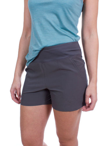 Patagonia Dames Happy Hike Shorts (Forge Grey)