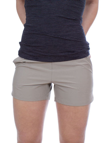 Patagonia Dames Happy Hike Shorts (Shale)