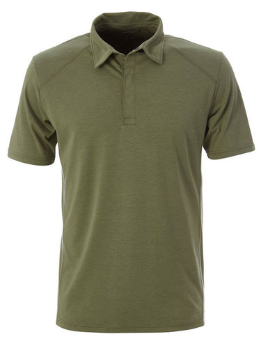 Royal Robbins Heren Travel Dry Polo (Lt Olive)