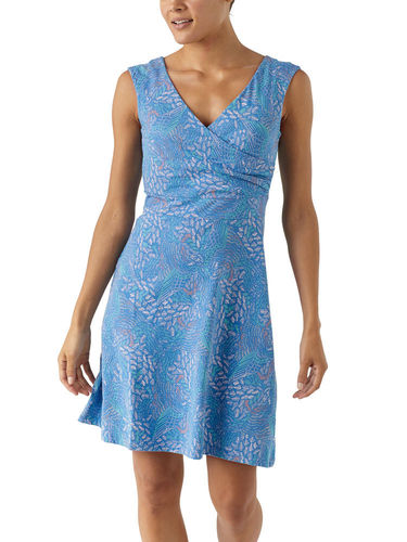 Patagonia Porch Song Dress (Swift Feathers Multi: Port Blue)