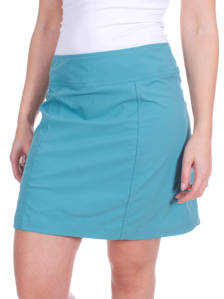 4dabe3cb56 Royal Robbins Discovery III Skort (Teal) Skirt with Shorts