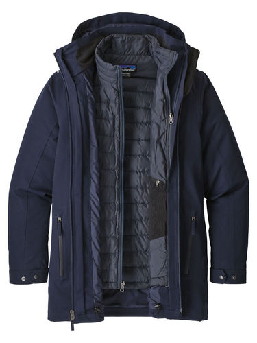Patagonia Heren Tres 3-in-1 Parka (Navy Blue)