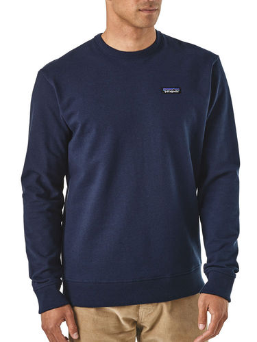 Patagonia Heren P-6 Label Uprisal Crew Sweater (Classic Navy)