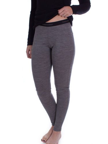 Icebreaker Dames 200 Oasis Leggings (Gritstone Heather)