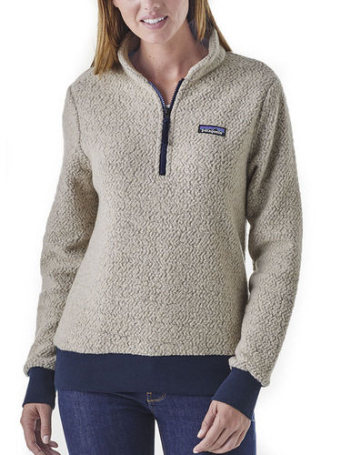 Patagonia Dames Woolyester Fleece P/O (Oatmeal)