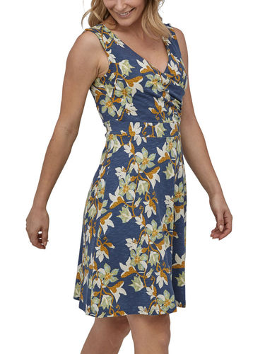 Patagonia Porch Song Dress (Squash Blossom: Dolomite Blue)