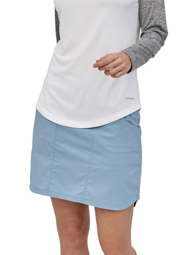 Patagonia Dames Tech Skort (Berlin Blue)