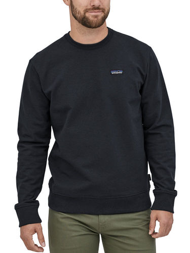 Patagonia Heren P-6 Label Uprisal Crew Sweater (Black)