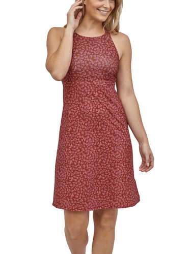 Patagonia Magnolia Spring Dress (Kelp Revival: Mangrove Red)