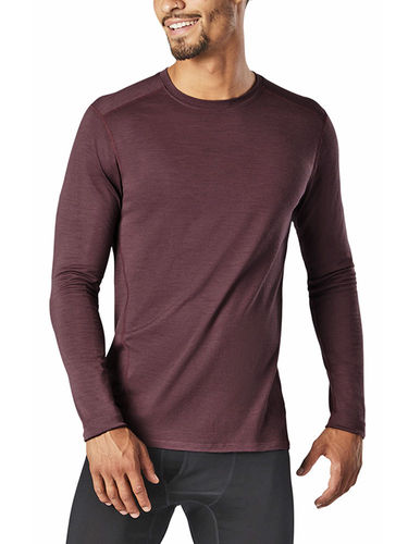 Smartwool Heren Merino 150 Baselayer LS (Light Woodsmoke)