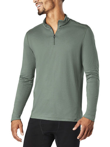 Smartwool Heren Merino 150 Baselayer 1/4 Zip (Sage)